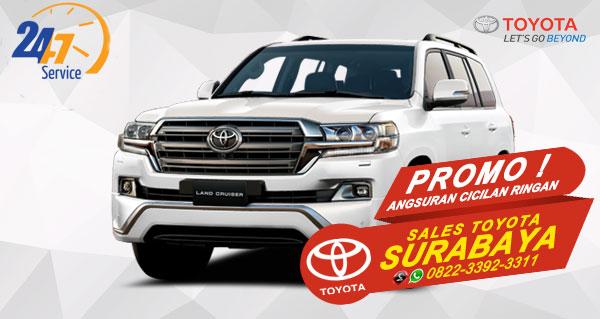 Promo Angsuran Cicilan Ringan Toyota Land Cruiser Surabaya