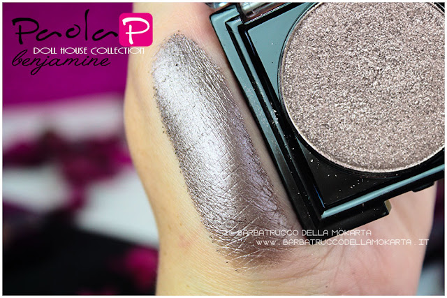 eyeshadow ombretti paolaP doll house  benjamine swatches