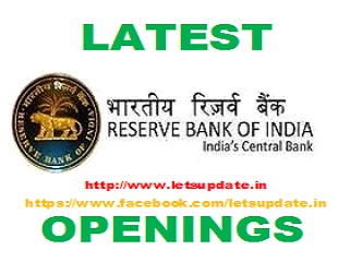 Recruitment of Legal Consultant in Reserve Bank of India (RBI). bank jobs,letsupdatejobs, naukri in bank, naukri,