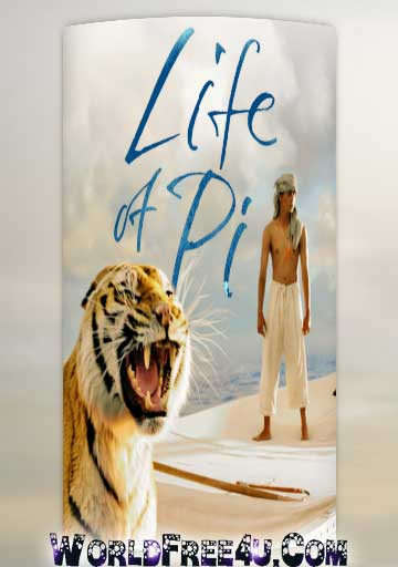 Poster Of Life of Pi In Dual Audio Hindi English 300MB Compressed Small Size Pc Movie Free Download Only At worldfree4u.com