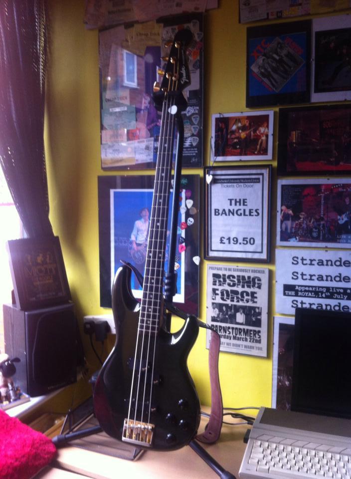 Fender Precision Lyte Charcoalburst
