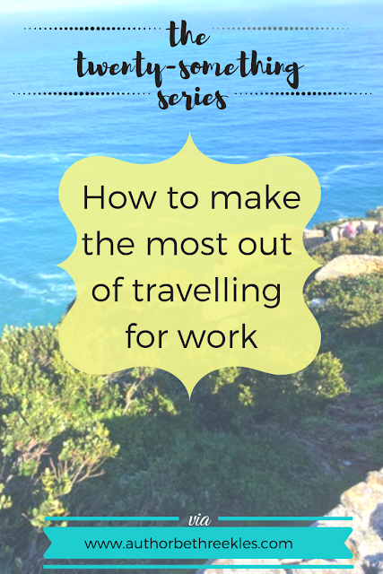 When you're travelling to exciting and exotic places for work, it sounds great, but in reality... it can be pretty bland. In this post, I talk about how to make the most of it!