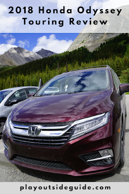 2018 Honda Odyssey Touring Review on PlayOutsideGuide.com