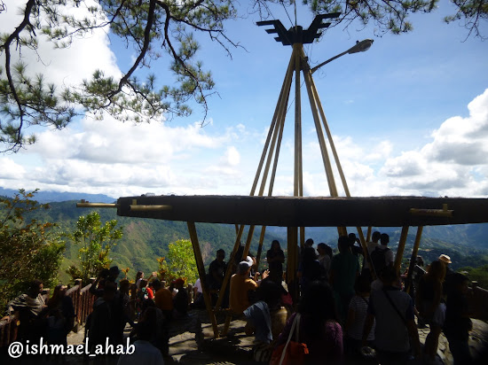 Observation Deck in Mines View Park of Baguio City