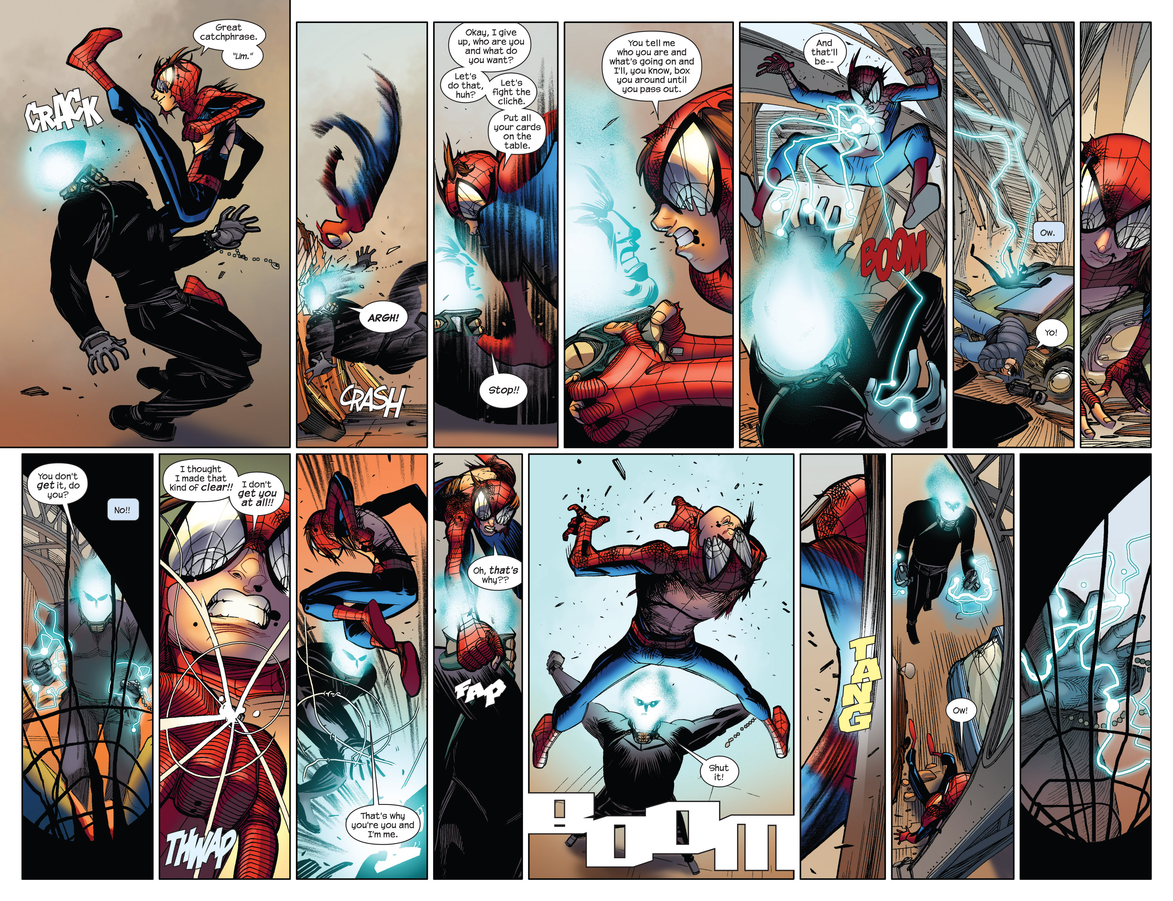 Read online Ultimate Spider-Man (2009) comic -  Issue #5 - 7