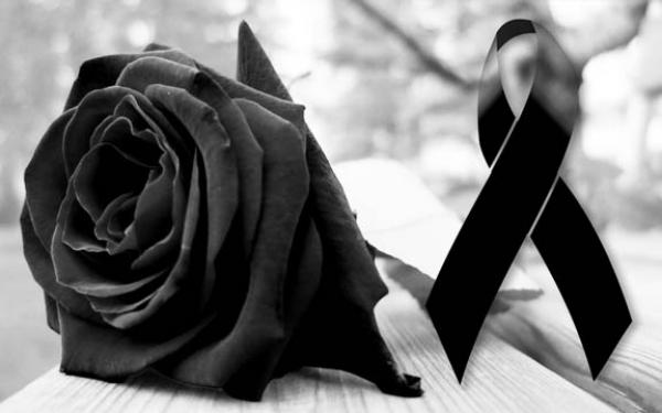 Crespón negro y rosa