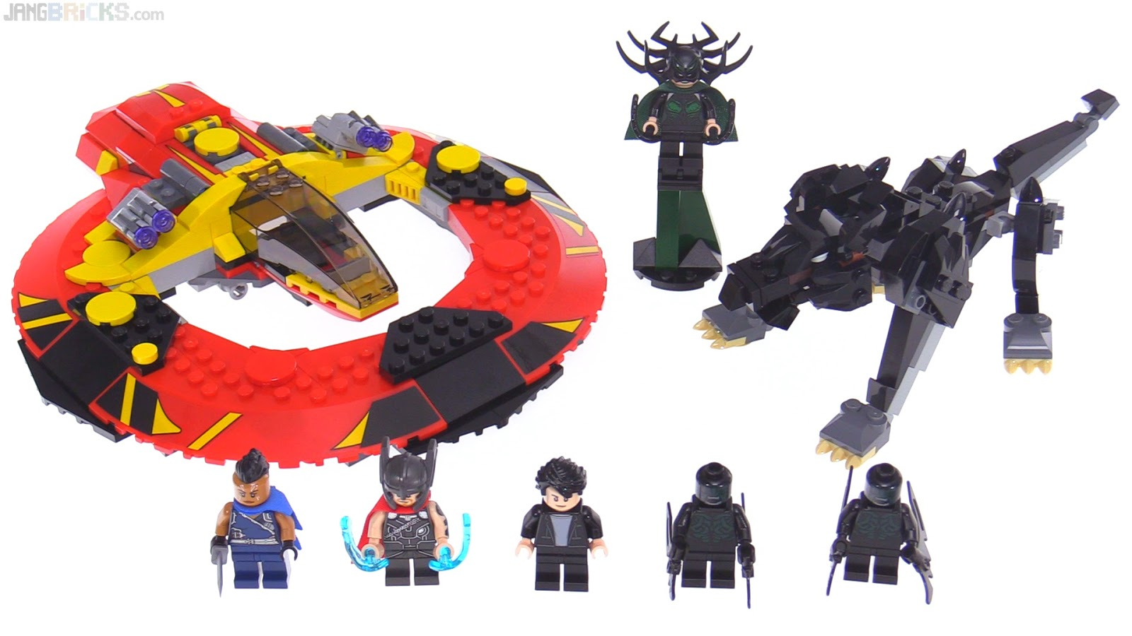 LEGO Marvel Super Heroes Thor MINIFIG from set 76084