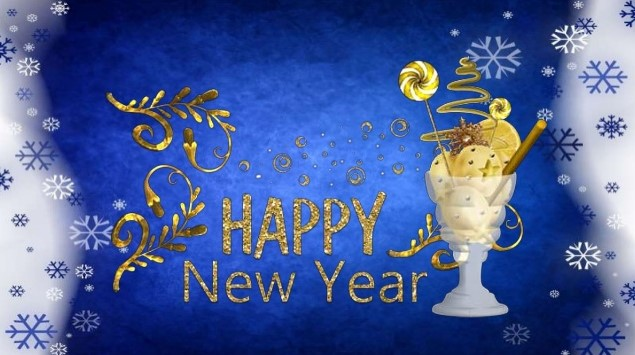 New year Greeting images