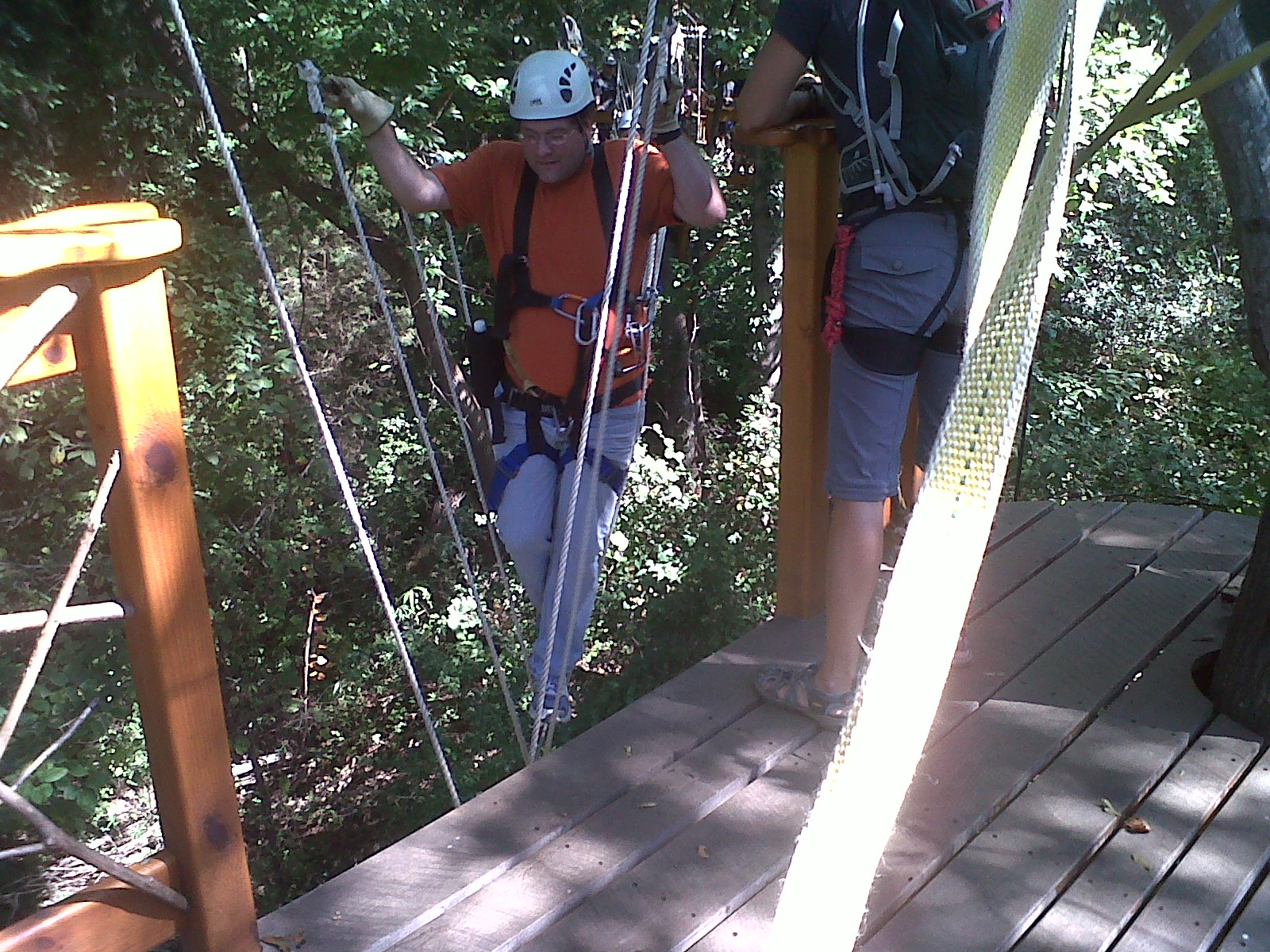 The Perez Family Blog Canopy Tour At Us National