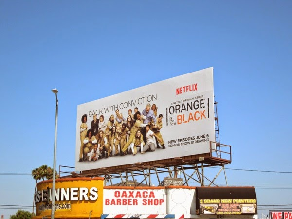 Orange is the New Black season 2 Netflix billboard