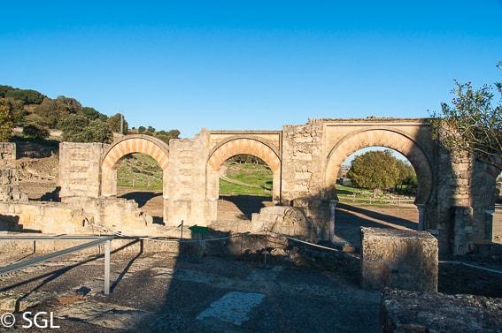 Ruinas arqueologicas Medina Azahara en Cordoba