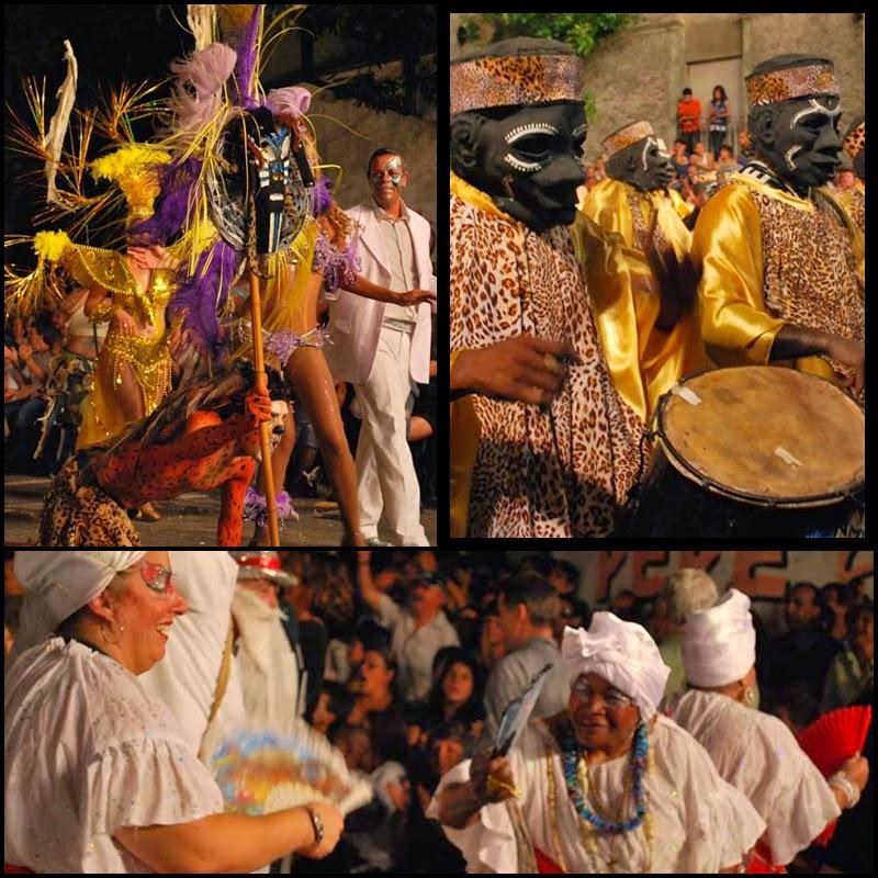 Carnaval. Desfile de Llamadas. Montevideo.Sarabanda. 2010.