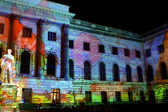 Humboldt Universität - Festival of Lights 2017