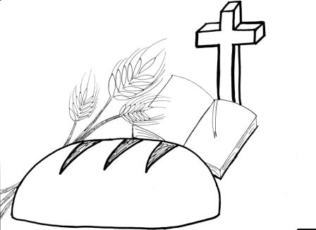bread of life coloring pages - photo#17