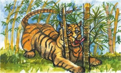Mouse Deer and Tiger Story Funny Short Stories for Kids - Telling Story