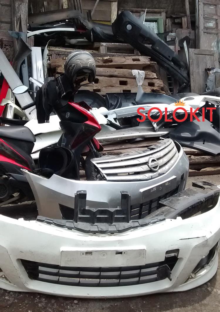 jual bodykit grand new avanza ground clearance all kijang innova bemper ori second/copotan | solo abs plastic