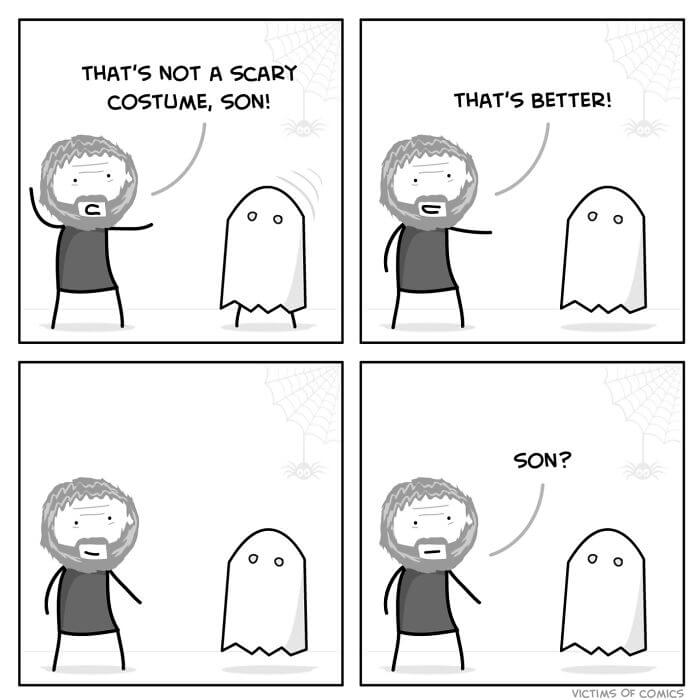 Hilarious Halloween Comics For People Who Truly Love To Celebrate This Day