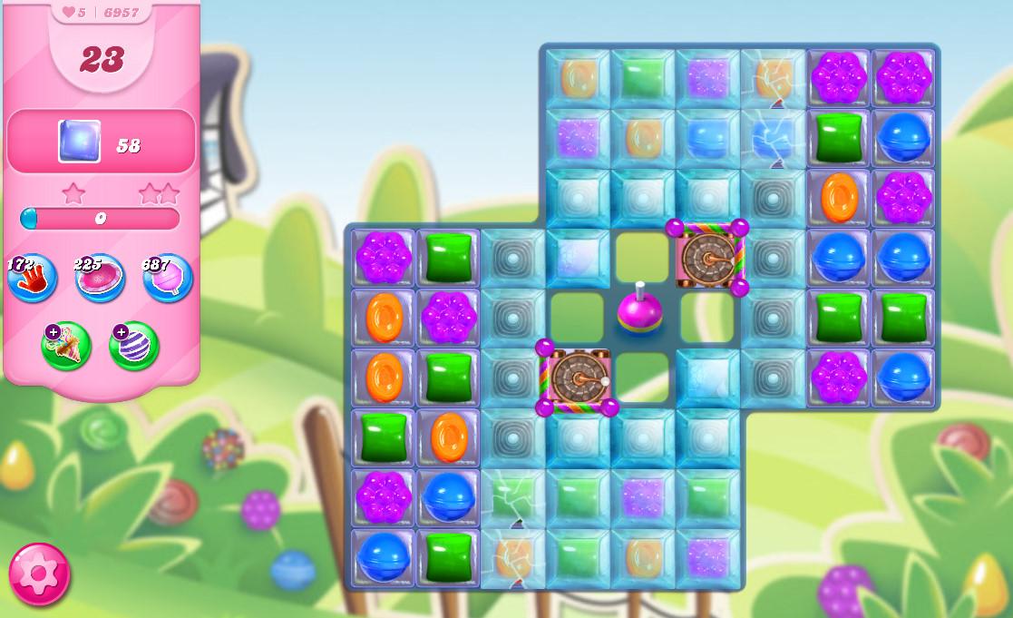 Candy Crush Saga level 6957