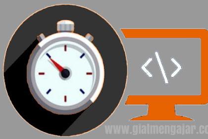 Cara mudah cek kecepatan loading blog atau website