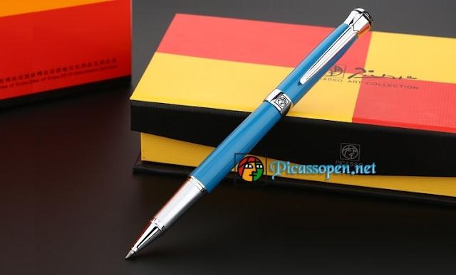 Bút ký cao cấp Picasso Pimio 903 màu xanh