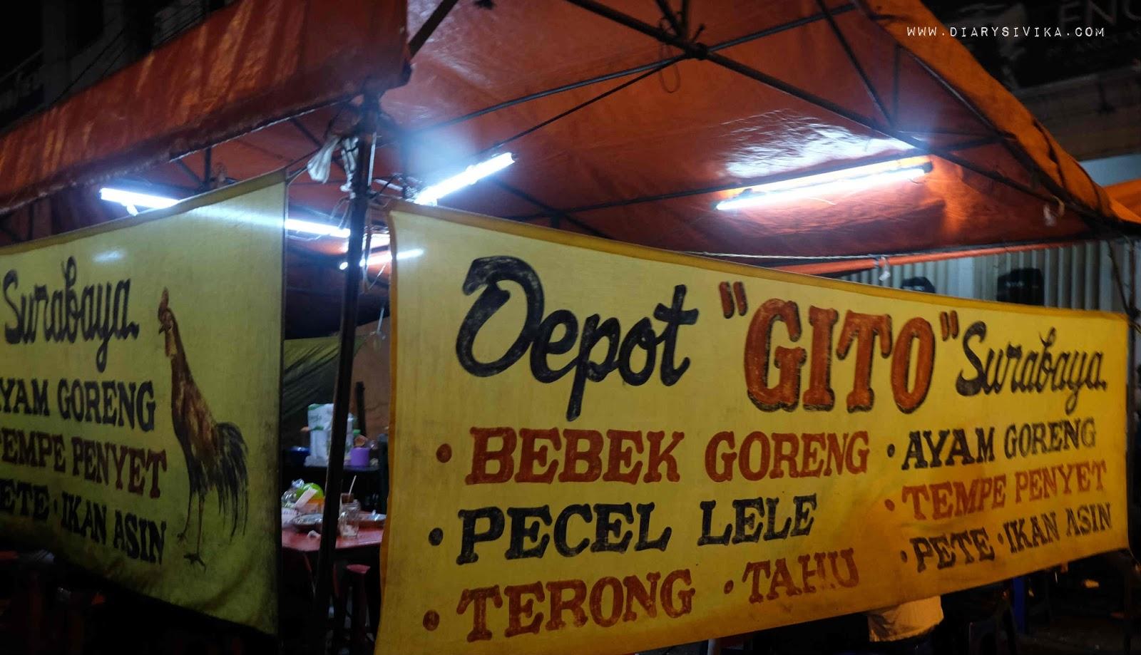 Penyetan Gito Di Surabaya Sambalnya Mantap Food Travel And