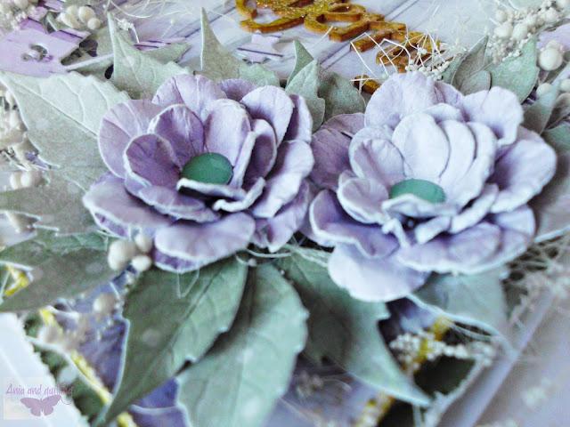 papiery do scrapbookingu Lavender Date