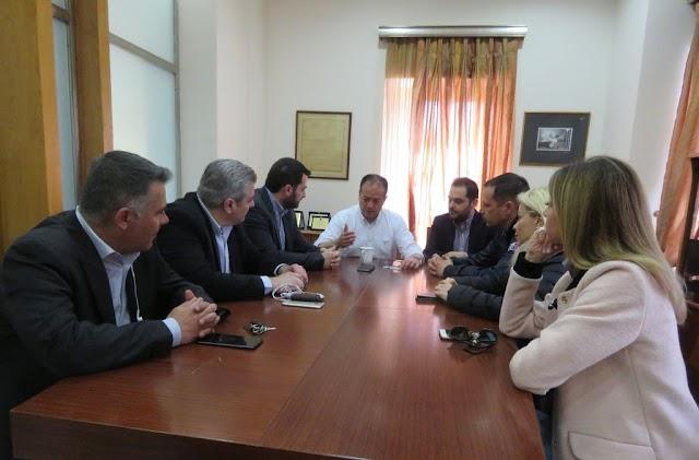 Ο Δήμαρχος Λαμιέων Νίκος Σταυρογιάννης συναντήθηκε σήμερα με τον υποψήφιο Περιφερειάρχη Στερεάς Ελλάδας Φάνη Σπανό
