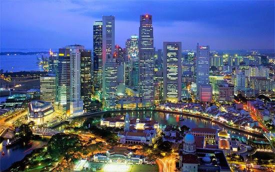 Cingapura - Paisagem urbana