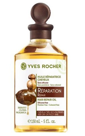 hair repair oil Yves Rocher
