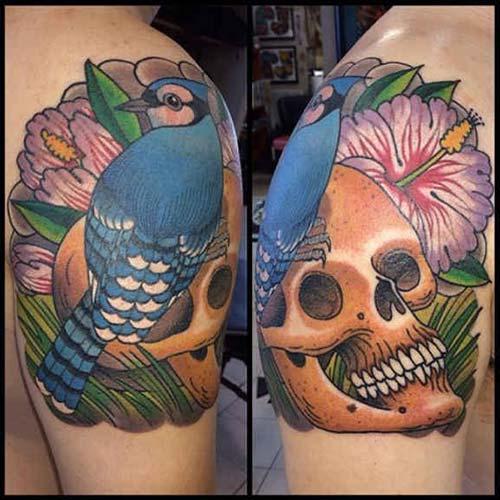 erkek omuz dövmeleri man shoulder tattoos 23