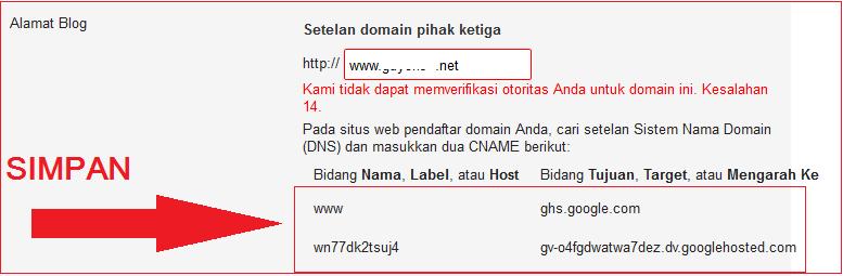 Simpan datanya, selanjutnya menuju ke situs unlimited.id dan login. jika sudah lansung menuju pada menu domain Anda yang sudah aktf dan klik kelola domain...