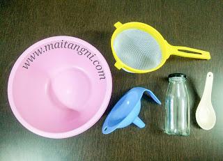 Peralatan untuk membuat kefir susu di rumah