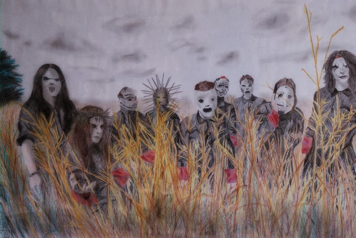 Metal slipknot drawing