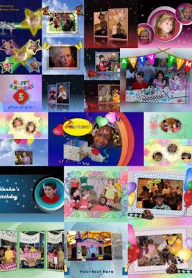 Birthday Slide Styles for ProShow Producer 5