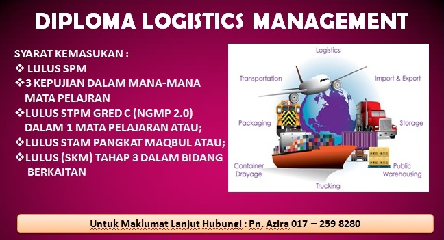 Diploma Logistics Management