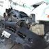 Van da Prefeitura de Santa Quitéria colide na traseira de caminhão na CE-257 e deixa vítima fatal e vários feridos