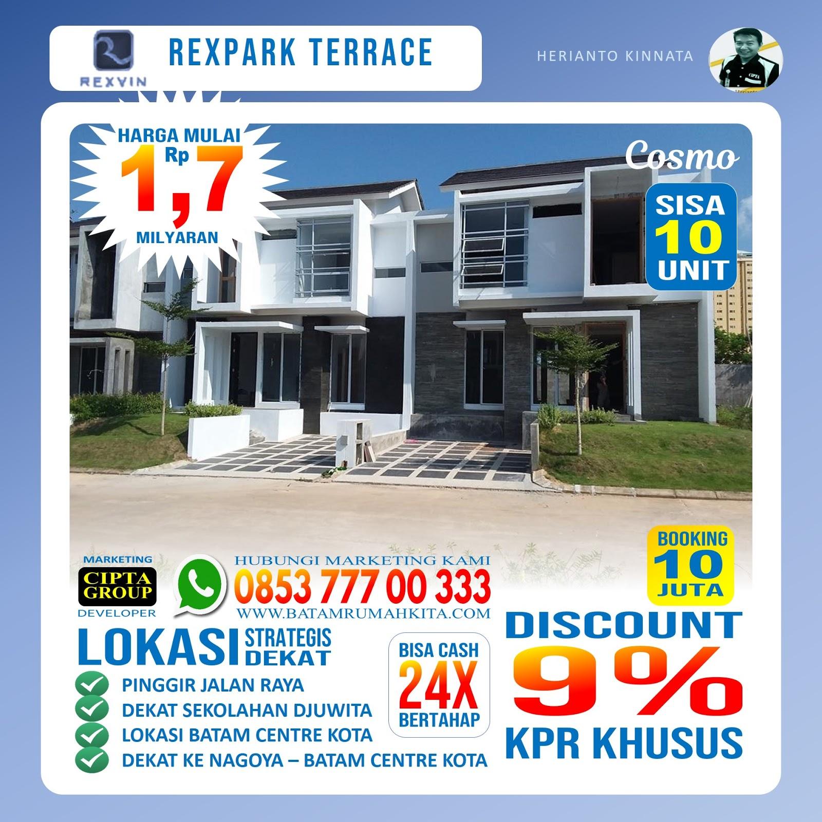 Perumahan Rexpark Terrace - Type cosmo -1