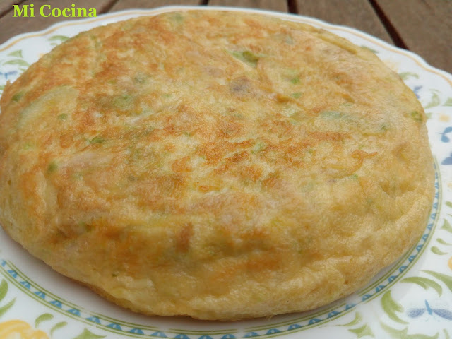 Tortilla De Aguacate Y Atun