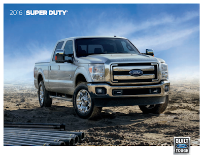 Downloadable 2016 Ford F-250 Brochure