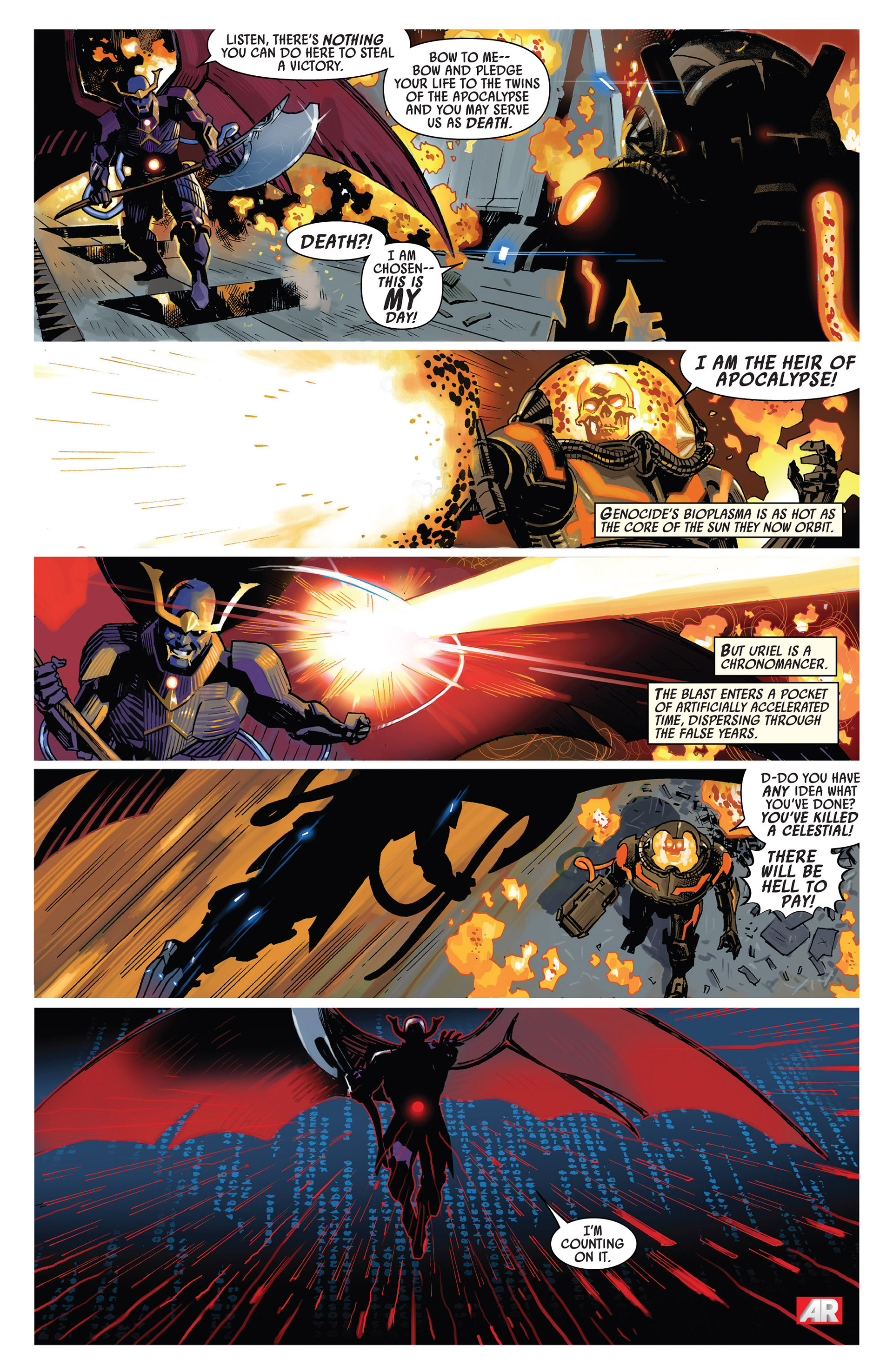 Read online Uncanny Avengers (2012) comic -  Issue #7 - 8