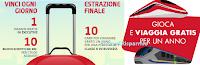 Logo Concorso ''Viaggiatore per un anno'': vinci viaggi gratis, buoni sconto e Card gratis per un anno