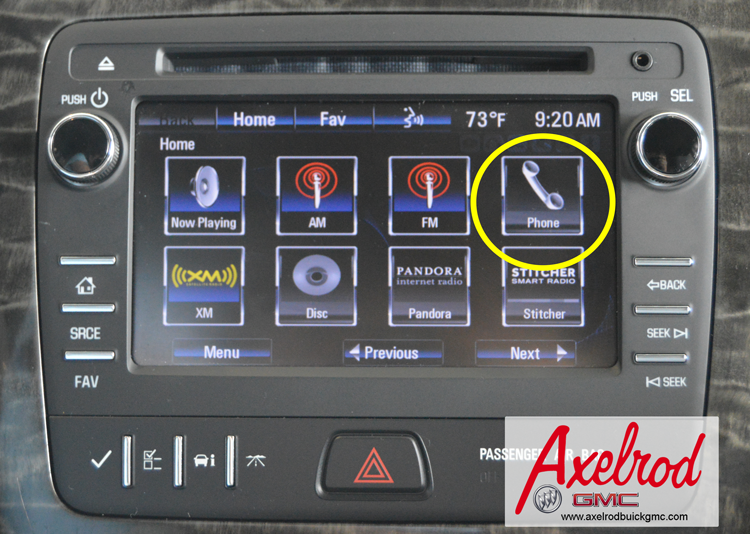 Pairing a Bluetooth Smart Phone with your Buick Enclave or GMC