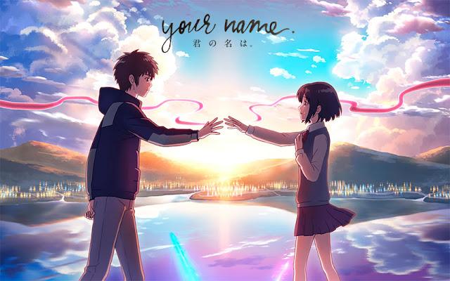 La película Your Name, escrita y dirigida por Makoto Shinkai es de una gran belleza poética