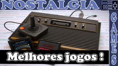 Jogos do Atari 2600 que com certeza voce já jogou!