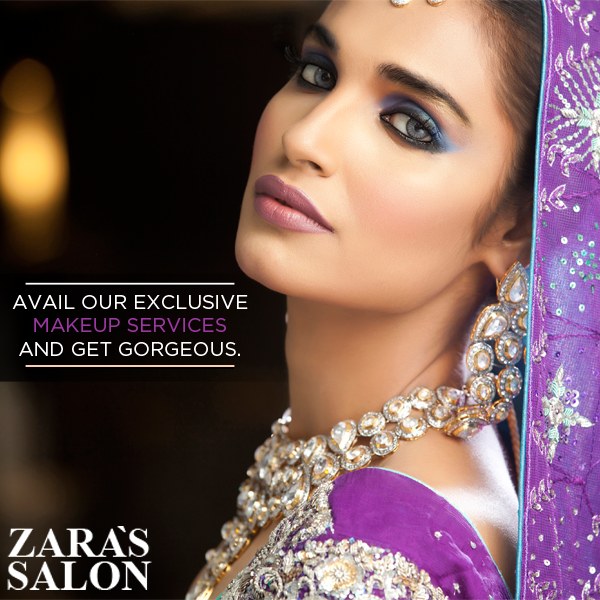 Zara's Salon Dulhan Makeup
