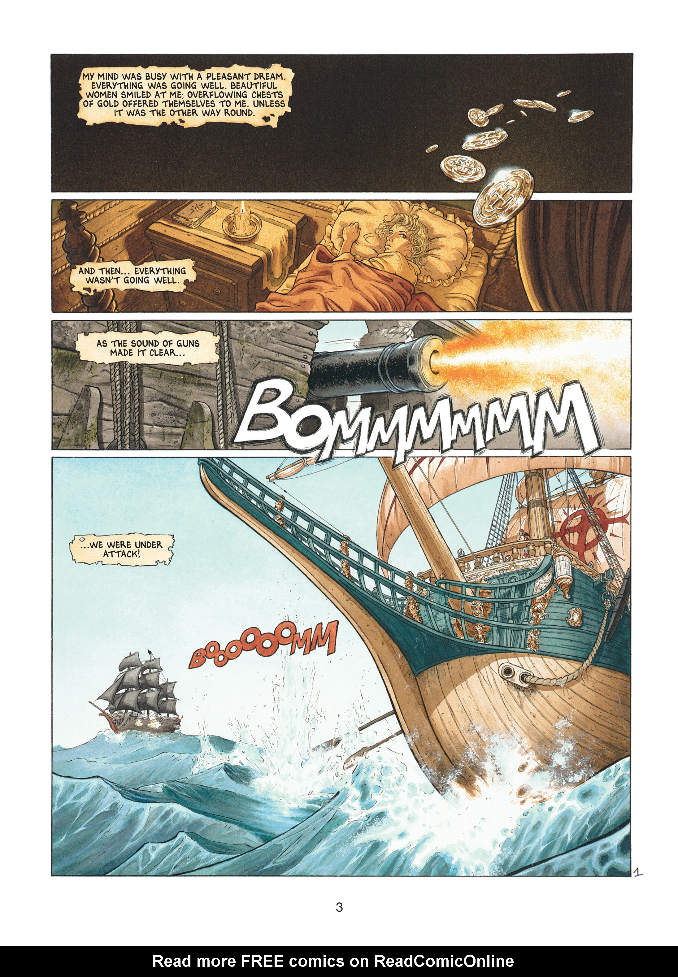 Read online Barracuda comic -  Issue #1 - 3