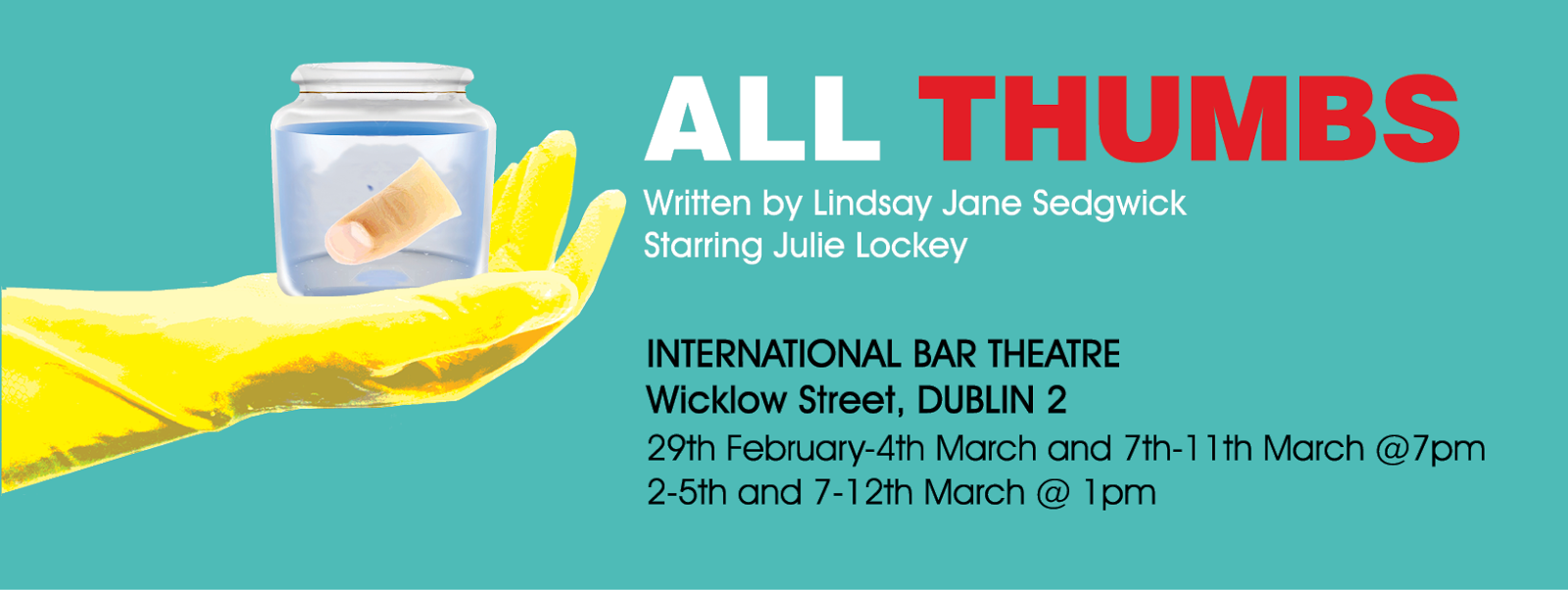 Opens Feb 29th in the International Bar, Dublin 2