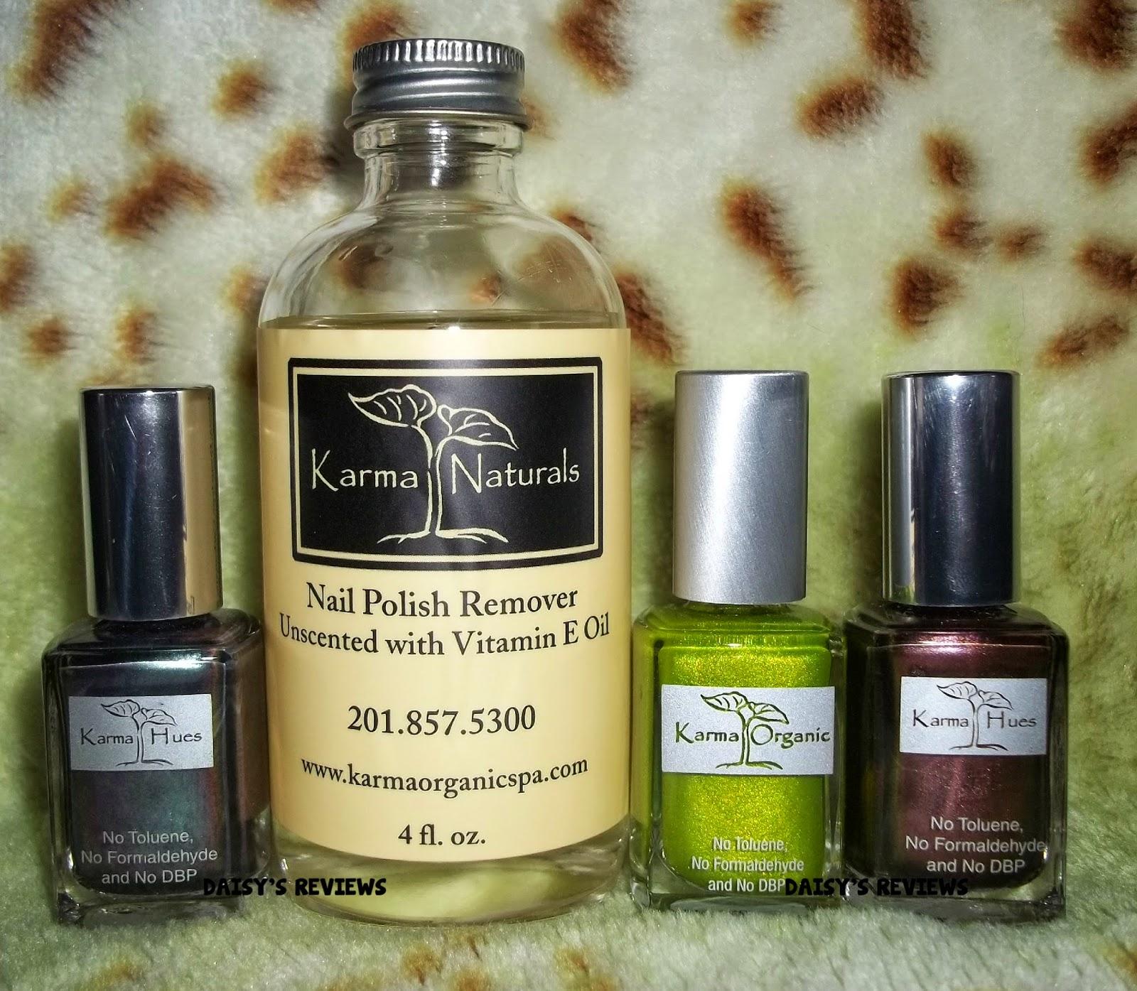 Welcome To Daisy S Reviews Karma Organic Spa Nail Polishes And Nail