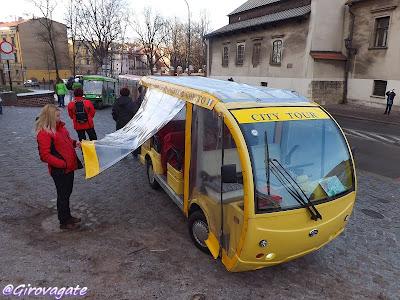 taxi elettrici cracovia