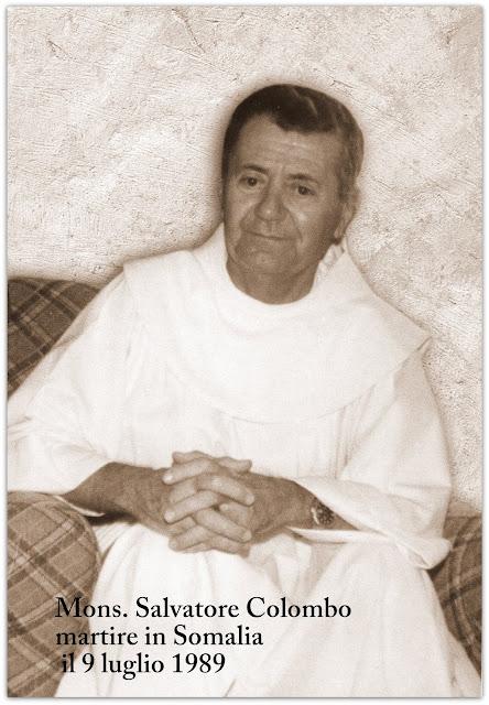 Mons. Salvatore Colombo, Vescovo di Mogadiscio